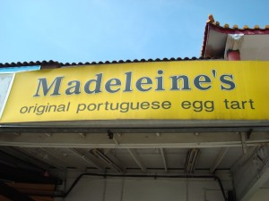 Madeleine's Original Portuguese Egg Tarts