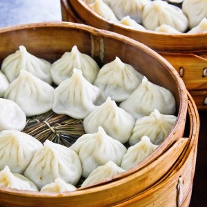 Dumplings - ubiquitous street food in Asia. Photo courtesy Dropout Diaries