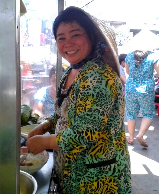 The Lunch Lady - HCMC's most famous street food eatery